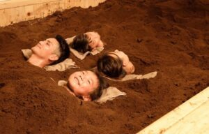 温泉で育てた酵素風呂「kaju」