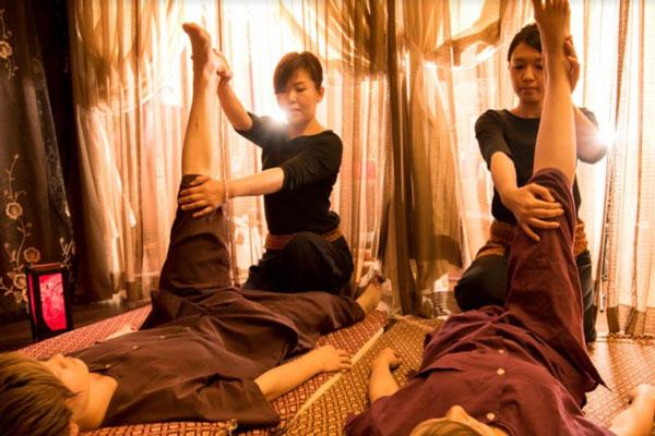タイ古式マッササージ|大分市中央町 楽しおん ワイホーム店|除菌100店舗計画SAKAI株式会社