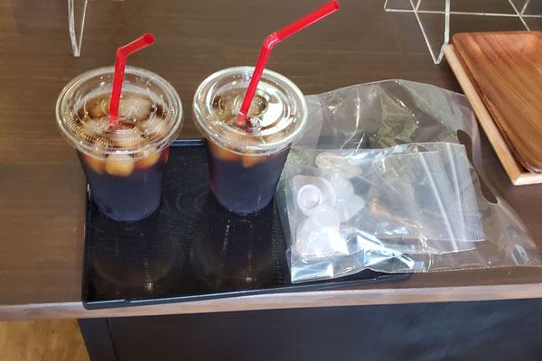 アイスコーヒー 大分市大津町 焼き菓子の店smile 除菌100店舗計画SAKAI株式会社
