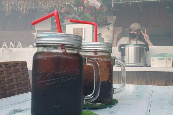 南国気分の飲み物 大分市青崎 南国kitchen HANAHANA 除菌100店舗計画SAKAI株式会社